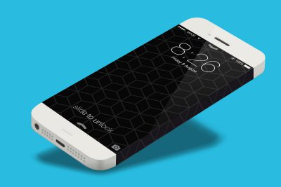 iPhone 6 Concept Design White